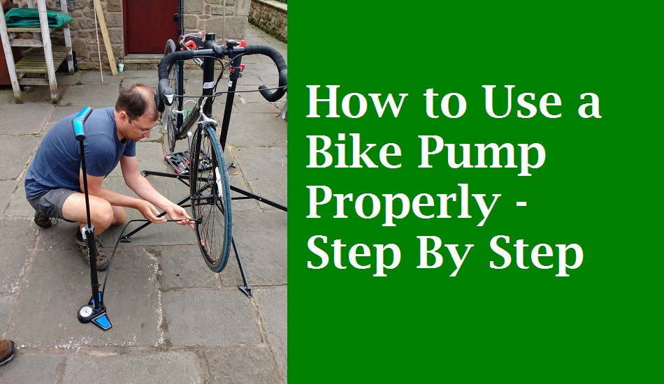 How to Use a Bike Pump Properly